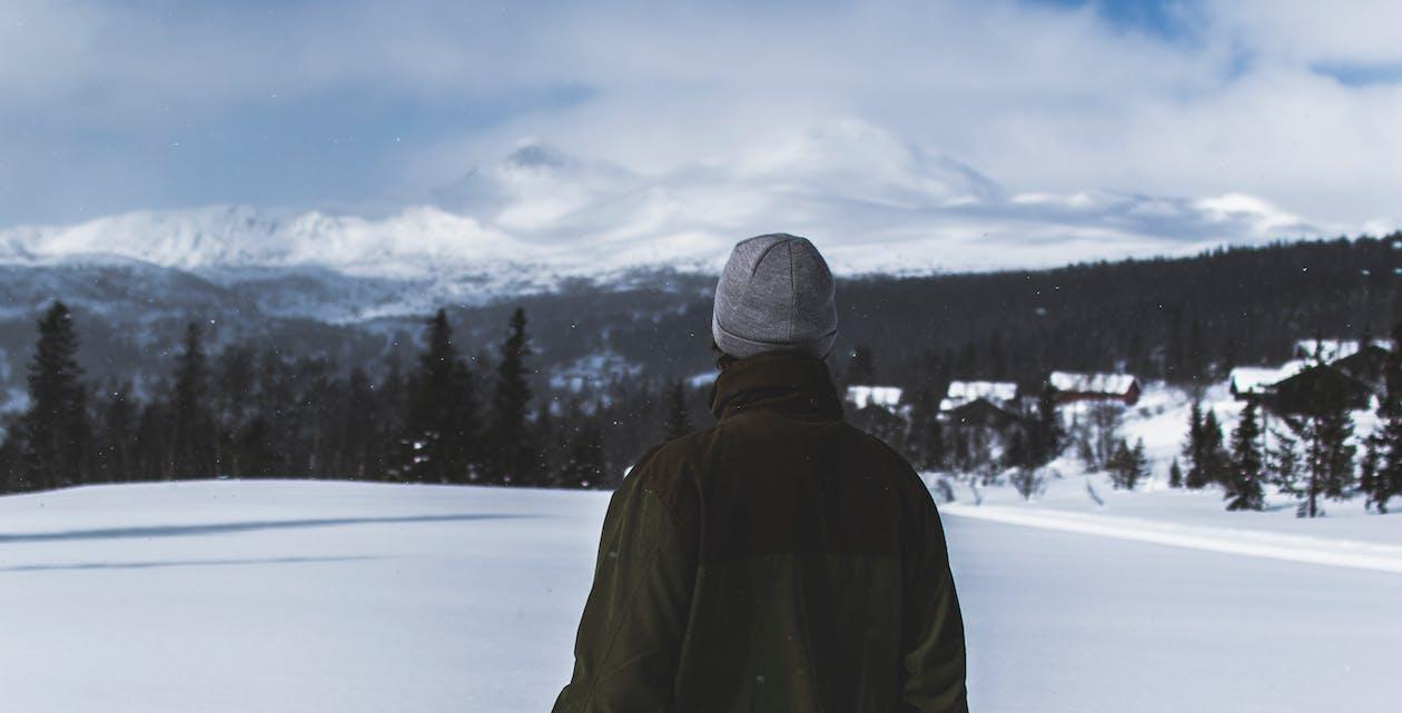 下雪的, 人, 似雪