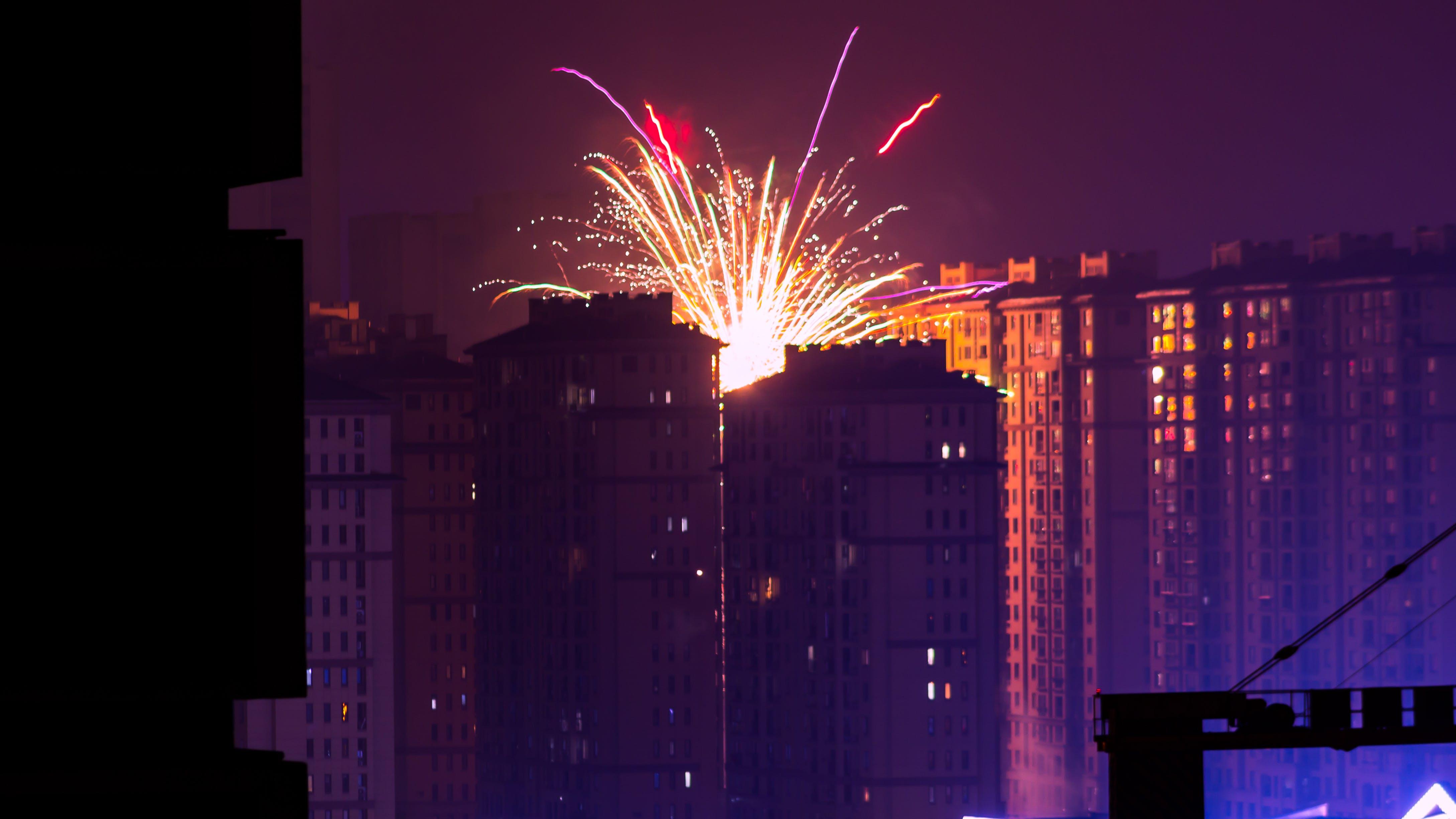 Immagine gratuita di architettura, città, edifici, esplosione