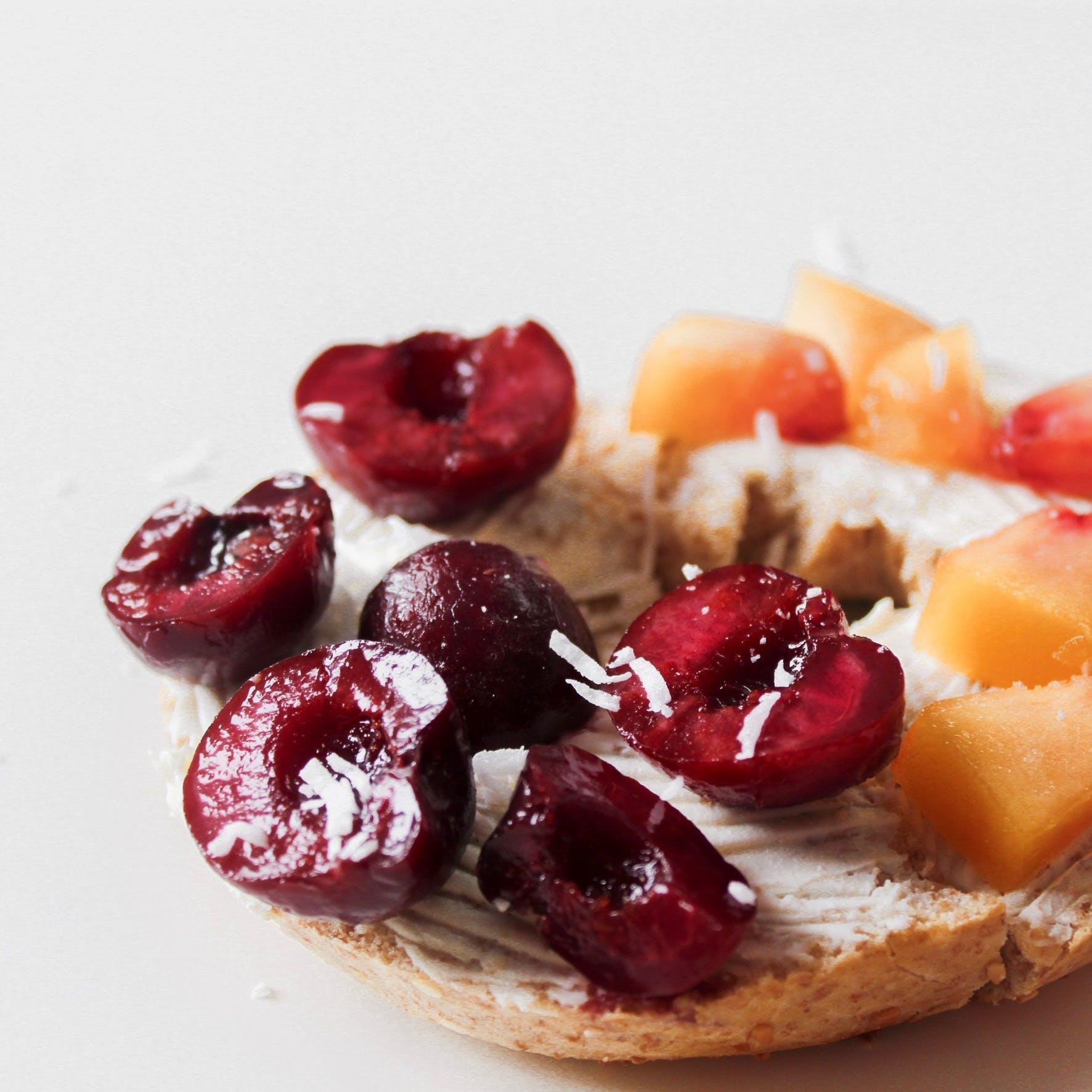 çalı meyveleri, dengeli beslenme, dengeli beslenmek, dilimler içeren Ücretsiz stok fotoğraf