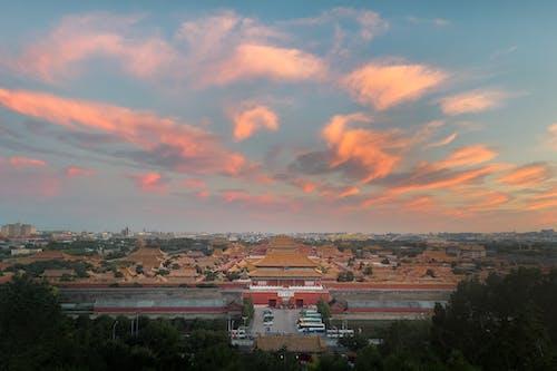 Photos gratuites de coucher de soleil, coucher du soleil, monuments historiques