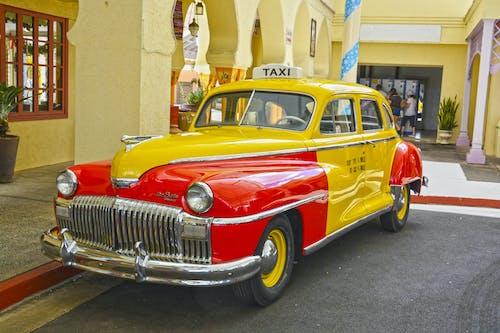 Fotos de stock gratuitas de 1949 chrysler desoto taxi