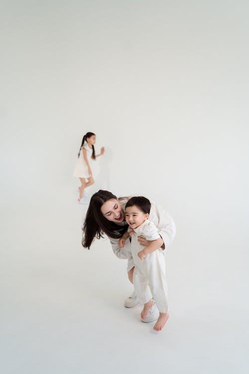 2 Women in White Dress Dancing
