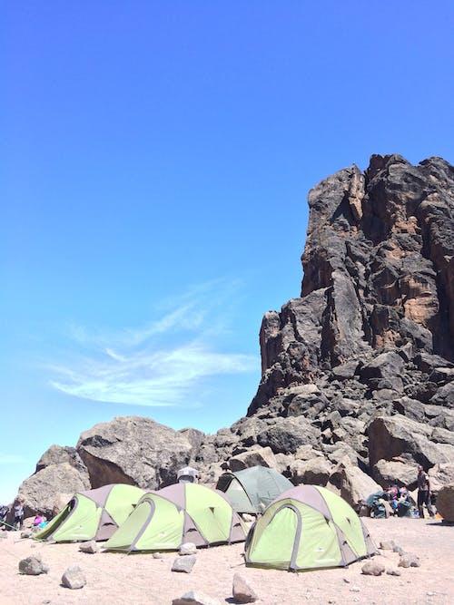 Kostnadsfri bild av afrika, kilimanjaro, lava tower, tält