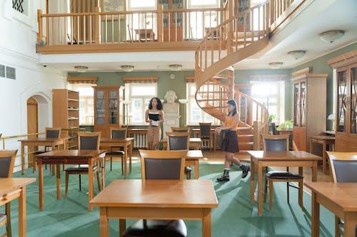 Foto stok gratis Arsitektur, bangku, belajar