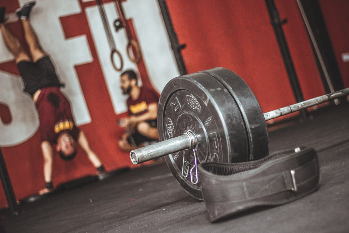 Focus Photography of Barbell