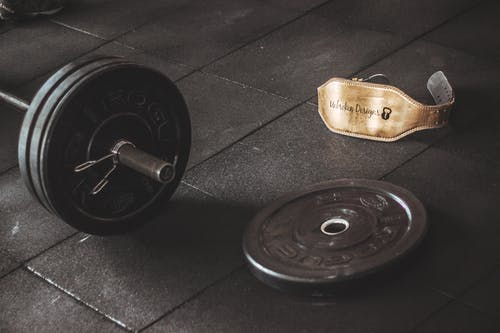 Barbell Near Belt