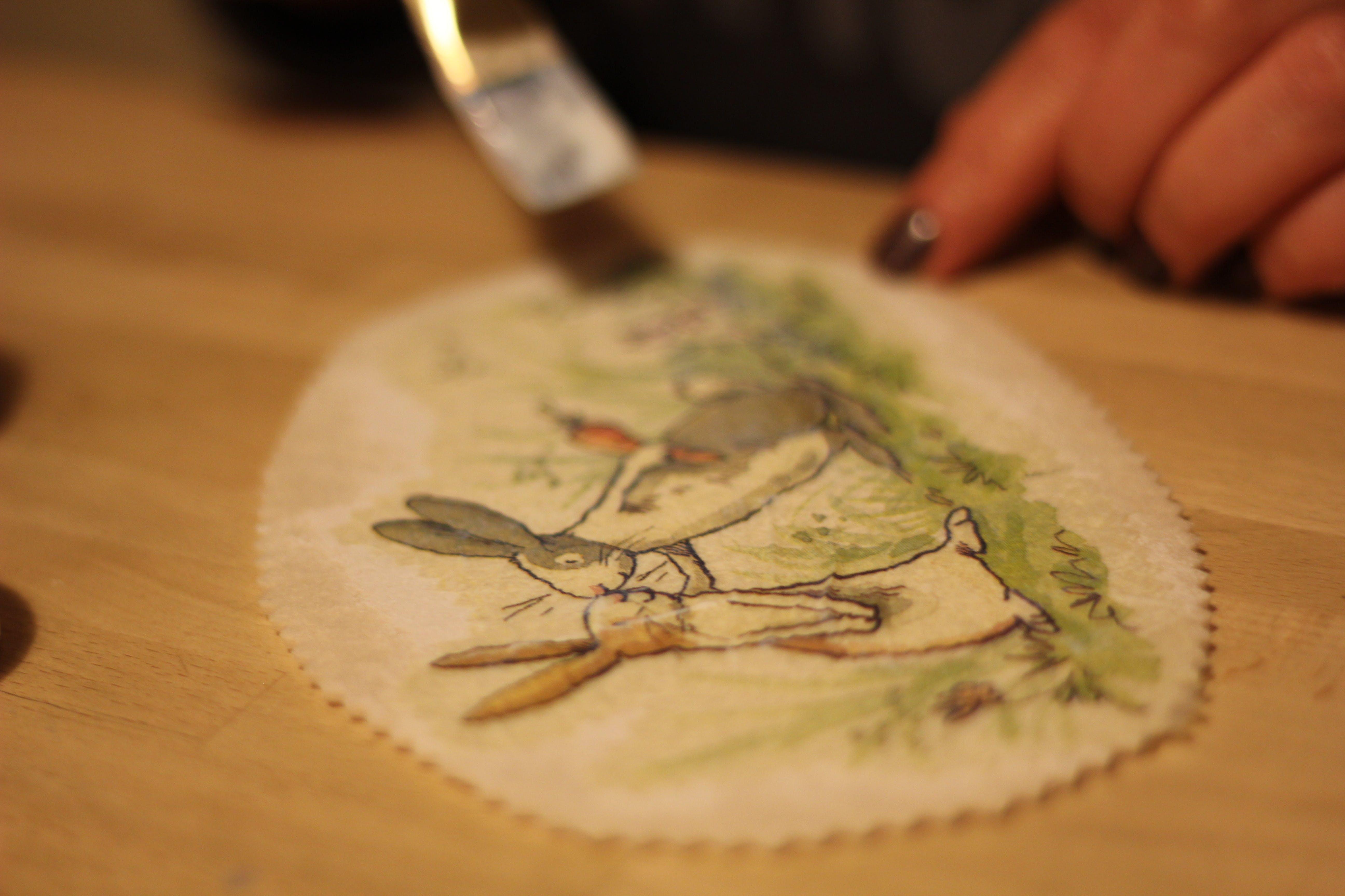 Free stock photo of brush, decoupage, handmade, paint