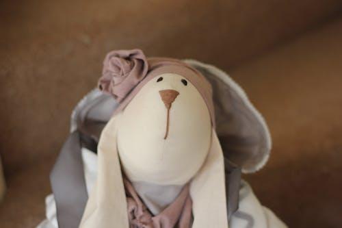 Free stock photo of bunny, doll, handmade, rabbit