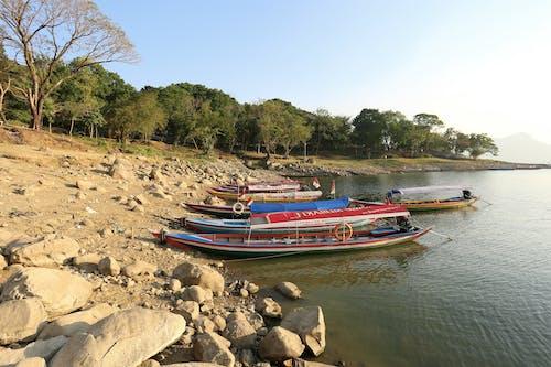 Foto stok gratis boot, danau, lansekap, perahu
