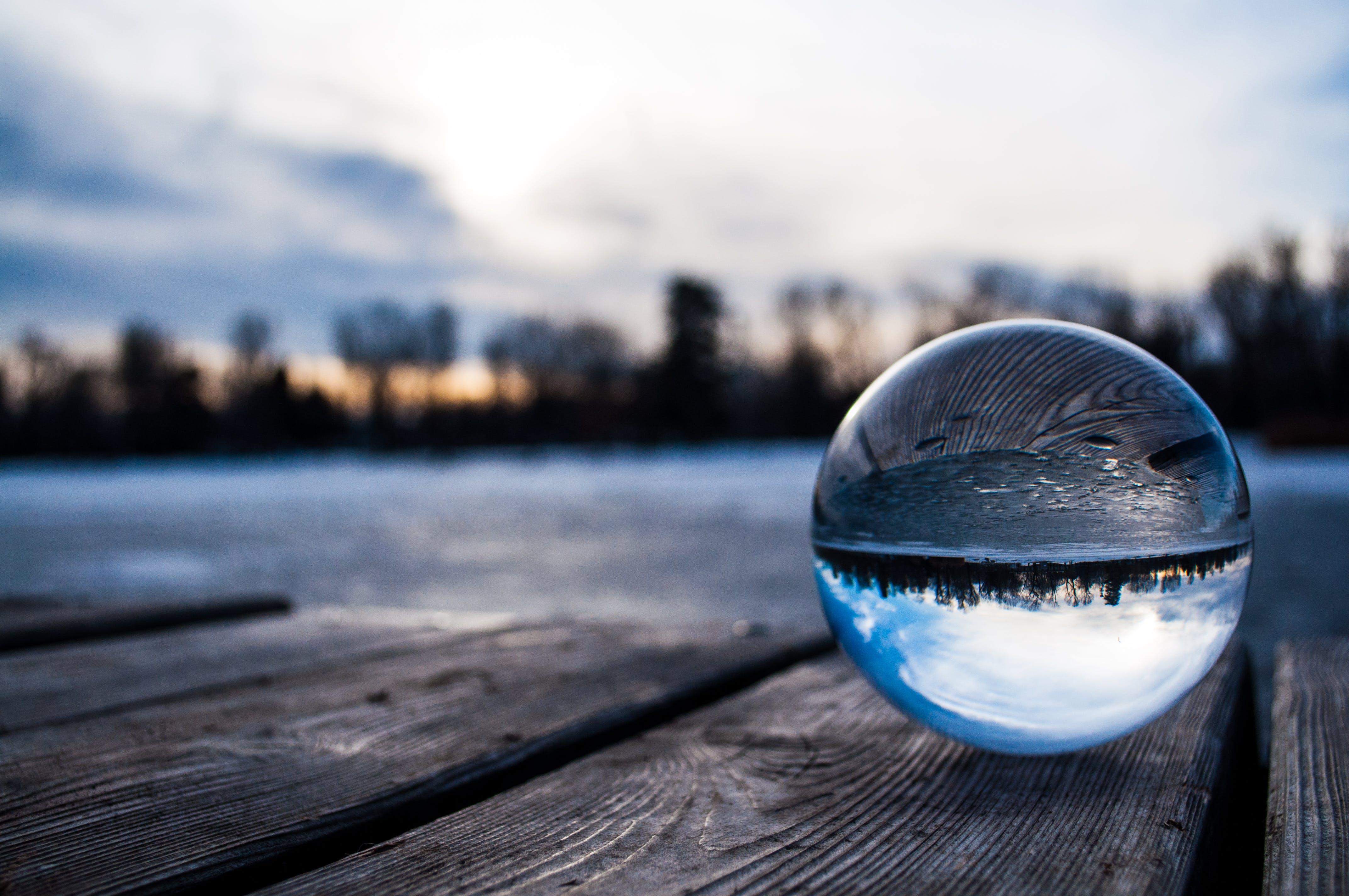 forkølelse, glaskugle, koldt