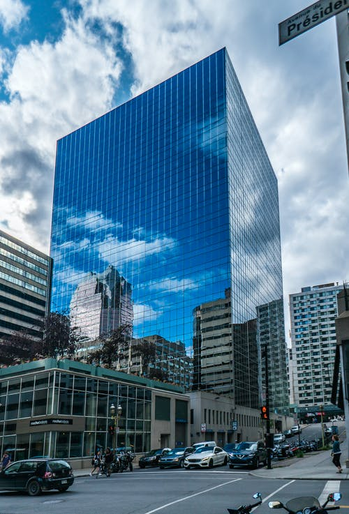 Gratis lagerfoto af blå, by, bygning, downtown