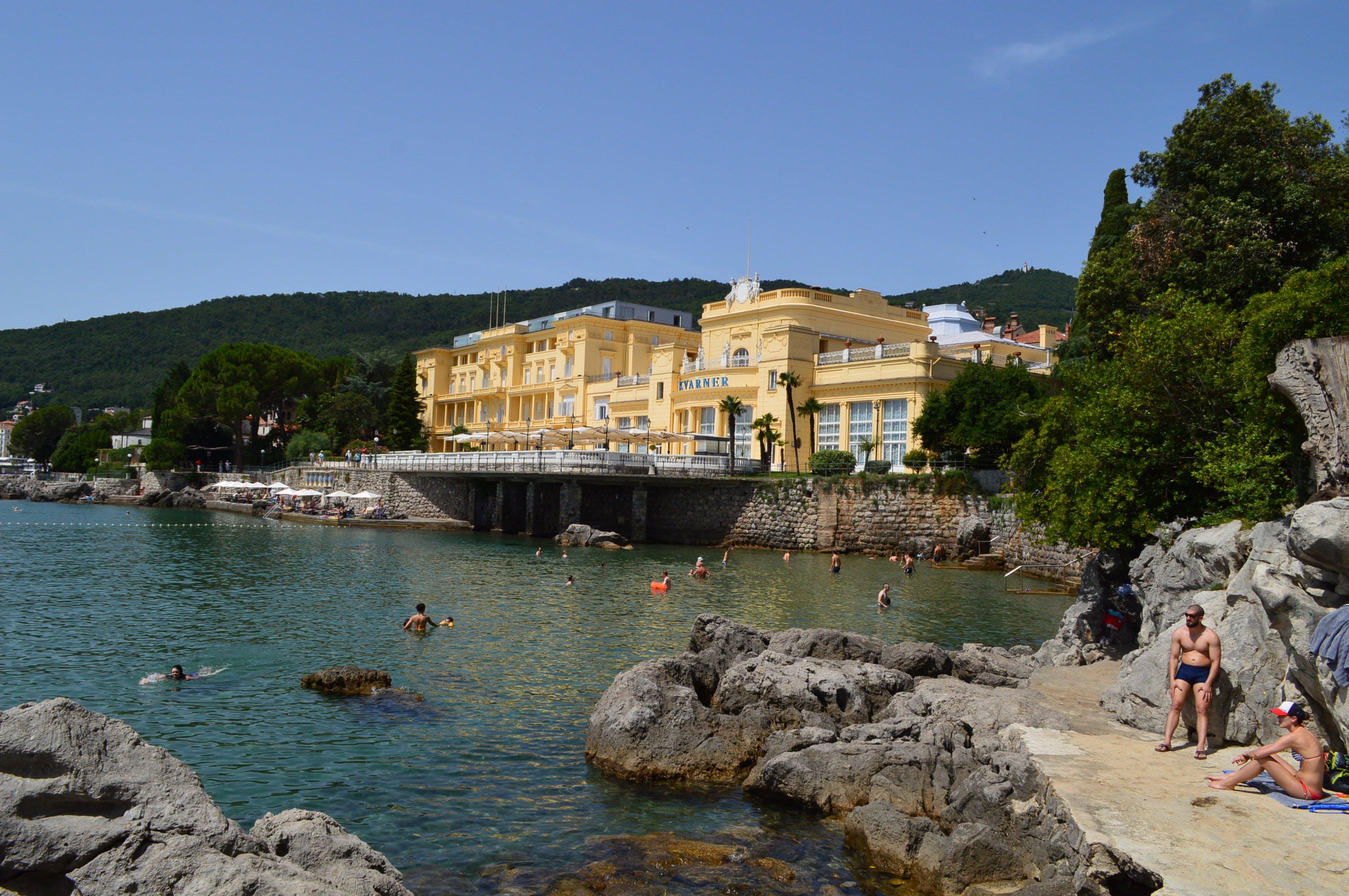 Free stock photo of beach, city, croatia, europe