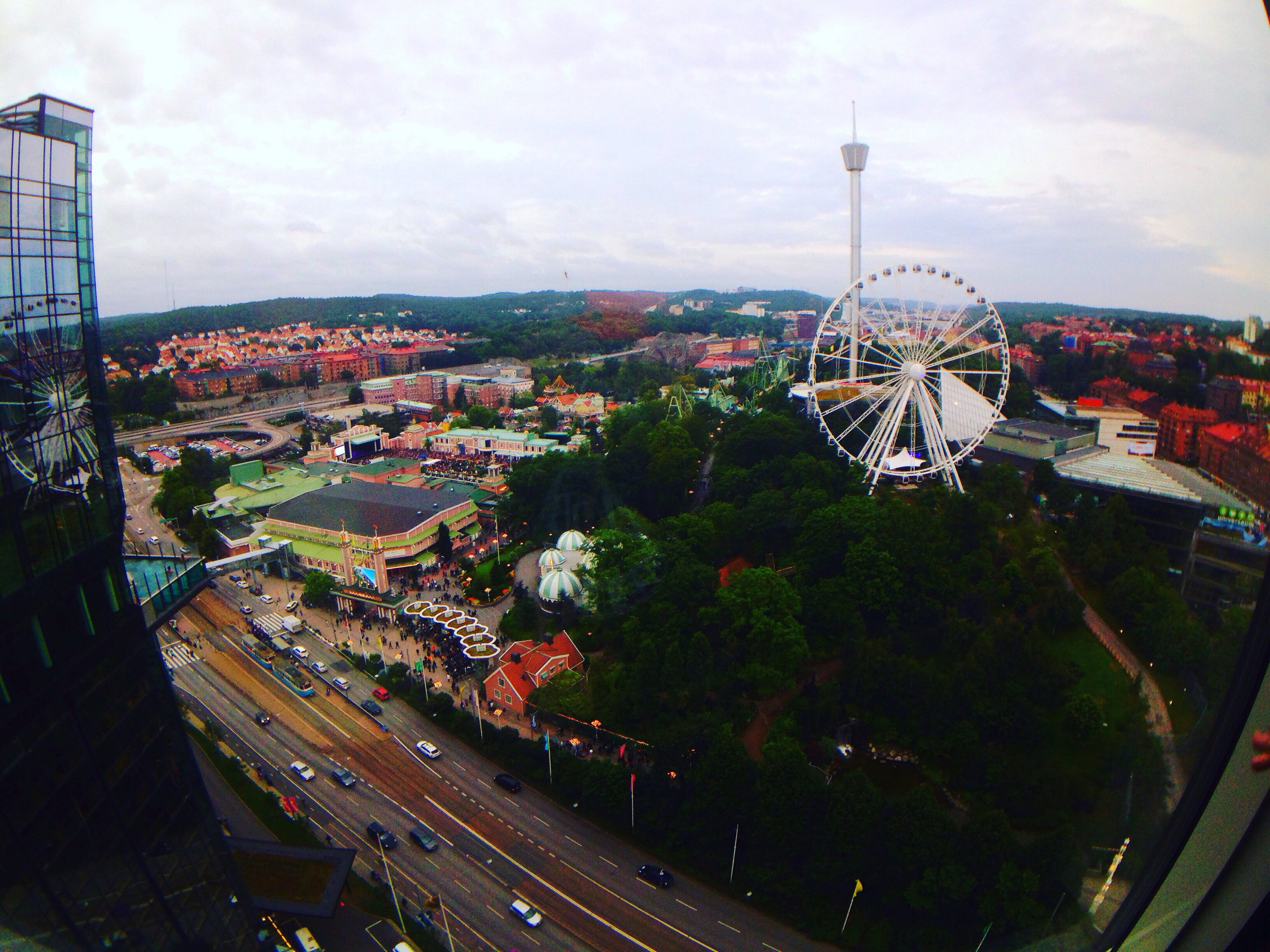 Free stock photo of amusement park, buildings, carnival, colorful