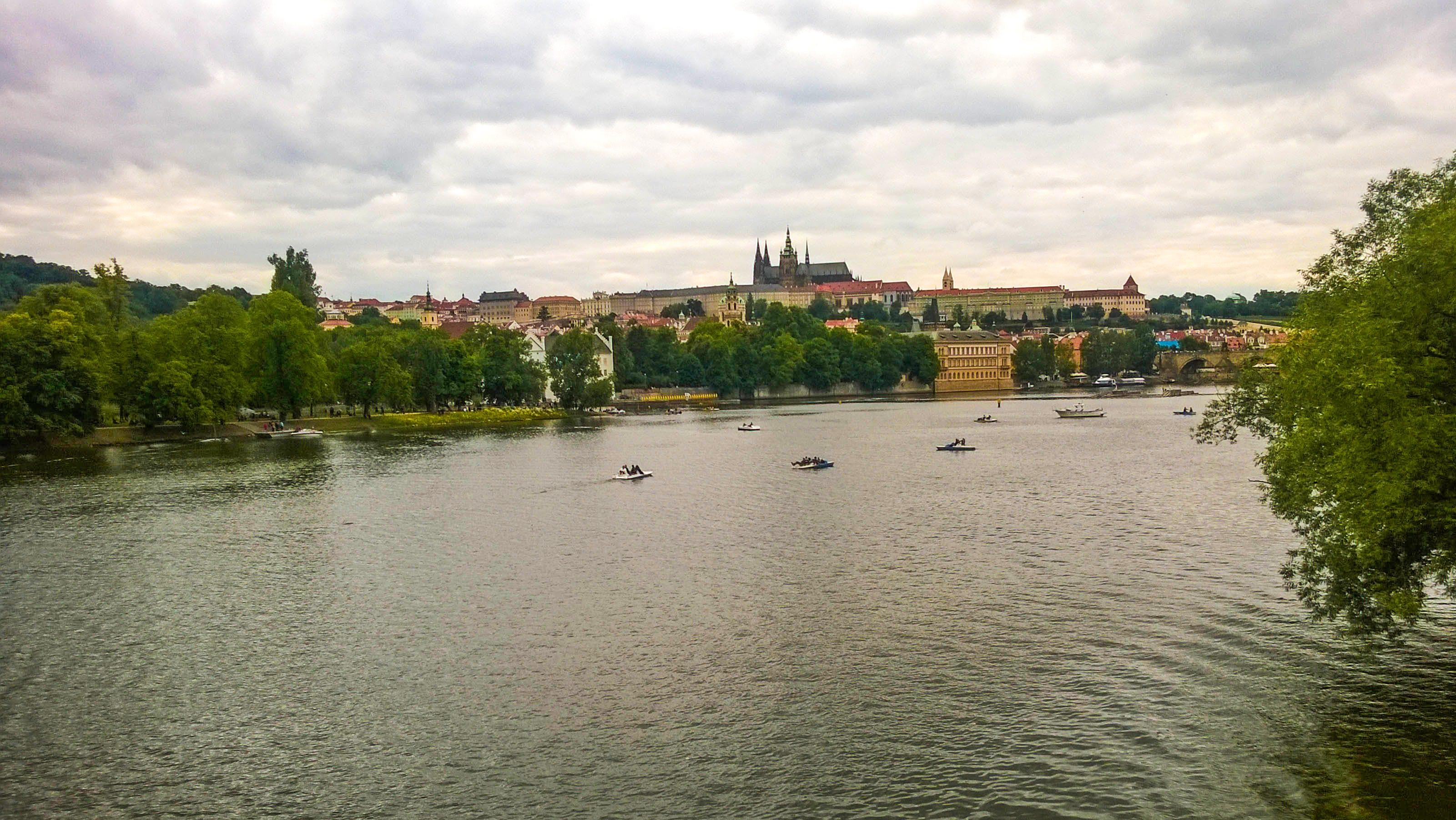 Free stock photo of boating, bridge, church, cityscape