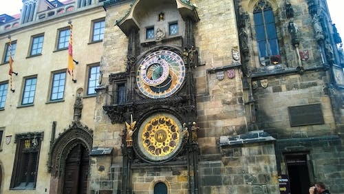 Free stock photo of architectural design, architecture, astronomical clock, building