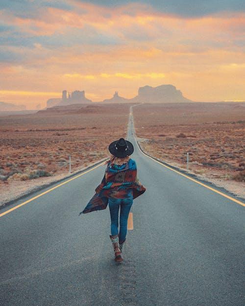 Free stock photo of adult, adventure, arid climate