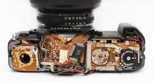 Foto d'estoc gratuïta de càmera, electrònica, equips, fotografia