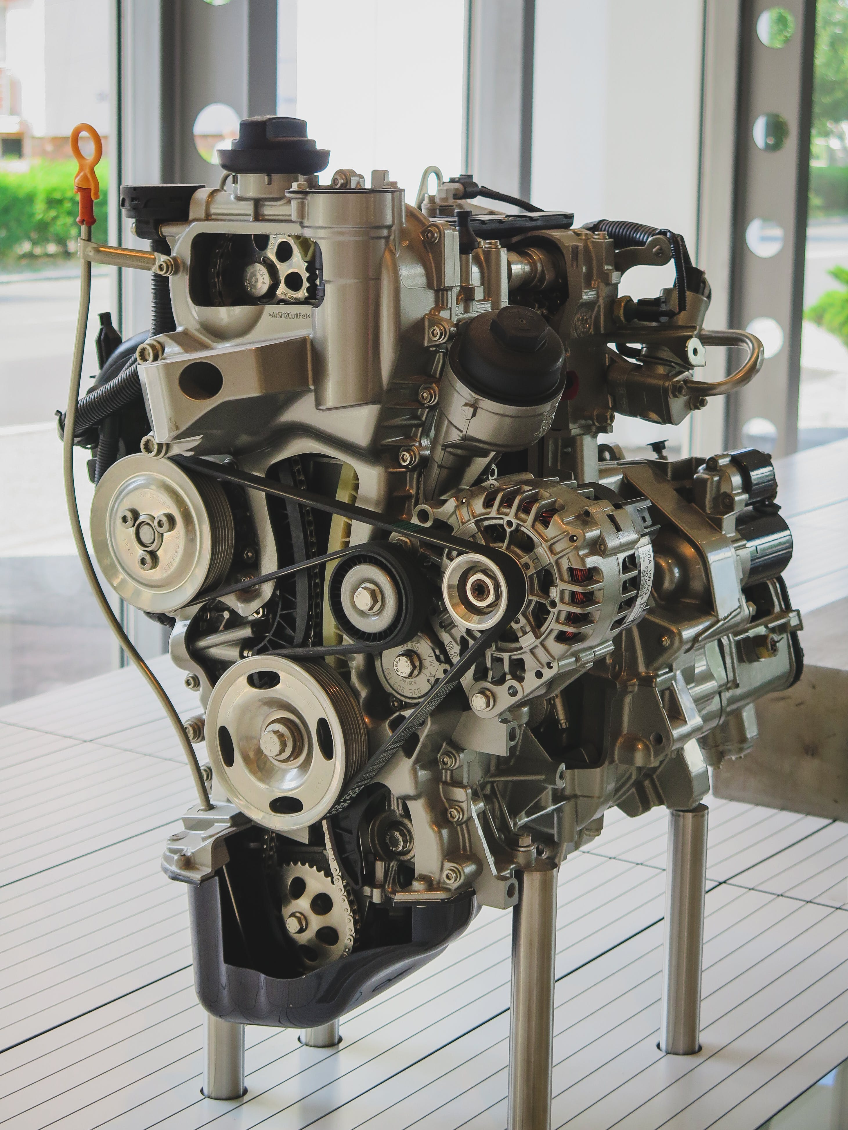 Free stock photo of car engine, cut in half, engine, Fabia