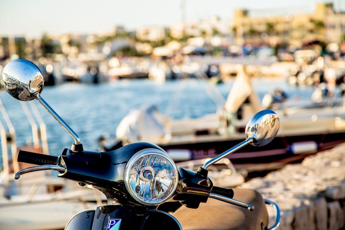 Photo of Black Motorcycle