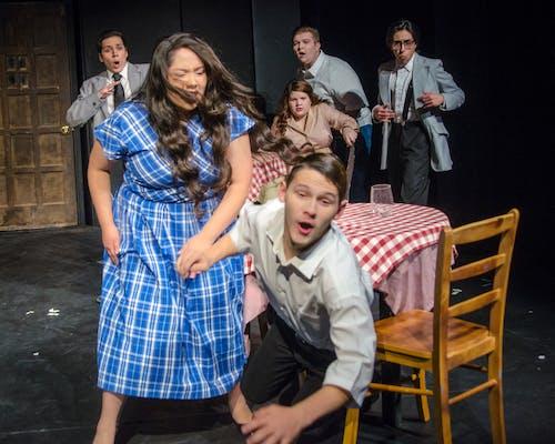 Základová fotografie zdarma na téma divadelní fotografie, divadlo, hněv, políček