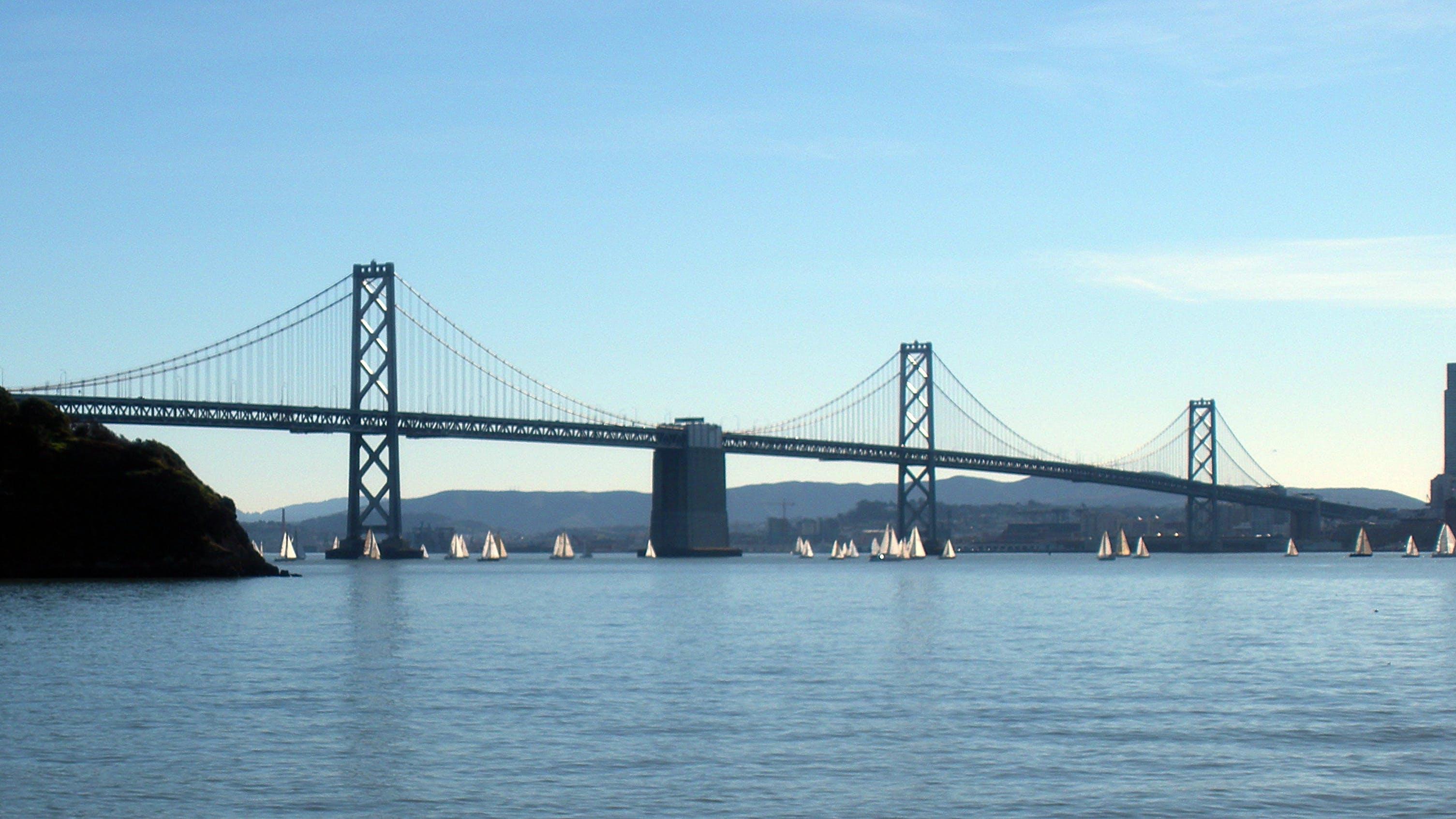 arkitektur, Bay Bridge, bro