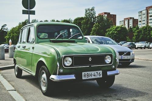 Green Renault Sedan