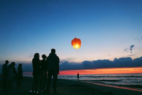 光, 兒童, 地平線, 娛樂 的 免费素材照片