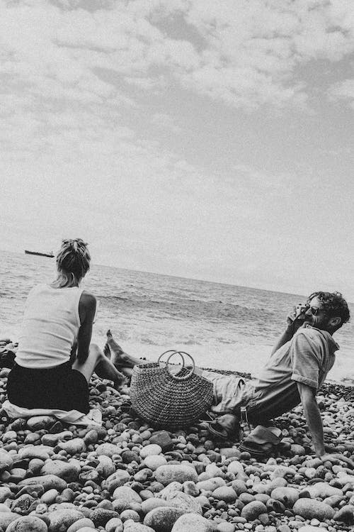 Free stock photo of background, basket, beach lovers