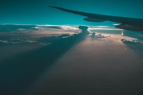 Безкоштовне стокове фото на тему «Авіація, вечір, Захід сонця, краєвид»