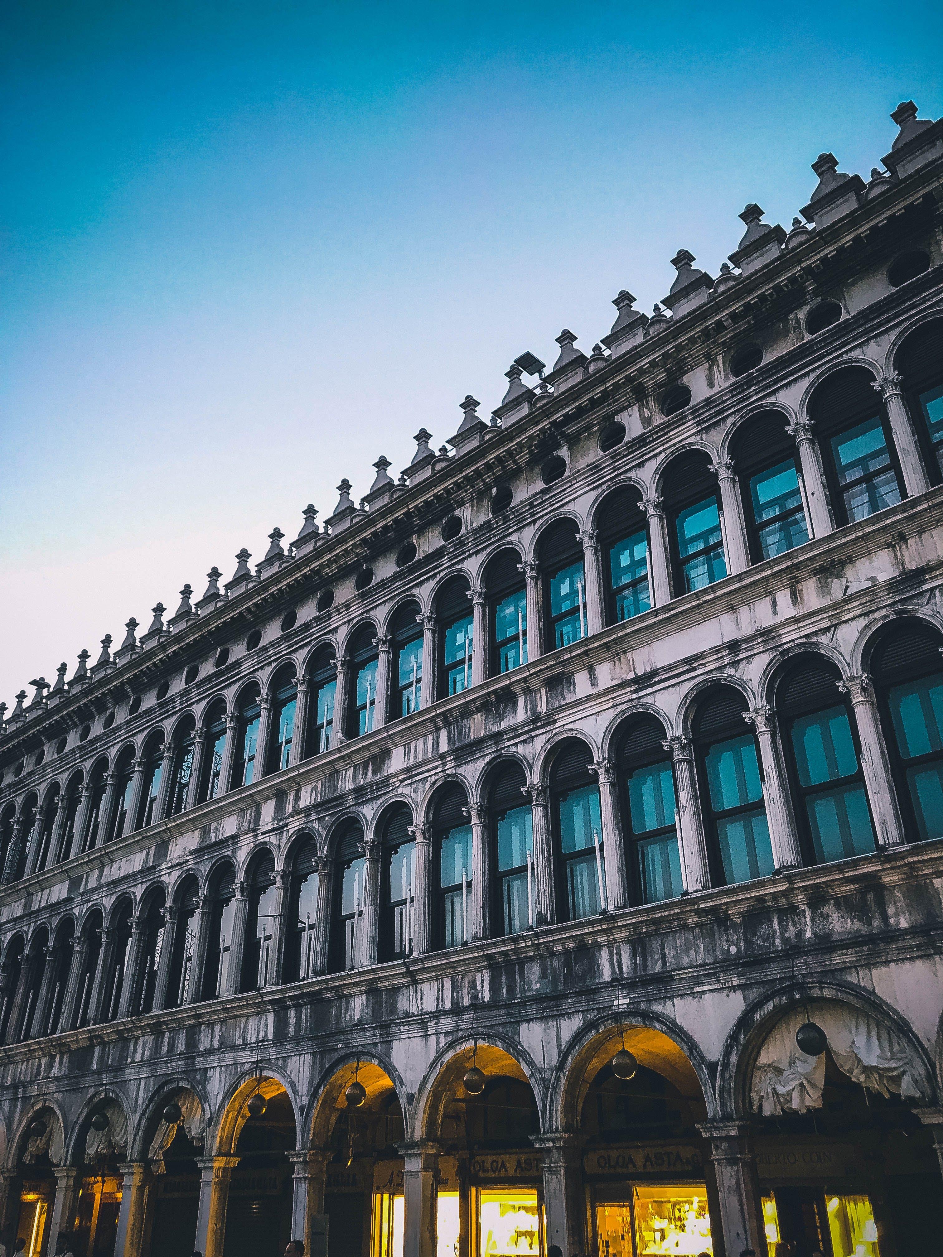 威尼斯, 義大利, 藍色 的 免费素材照片