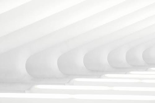 Moderne Kunstmalerei In Weiß