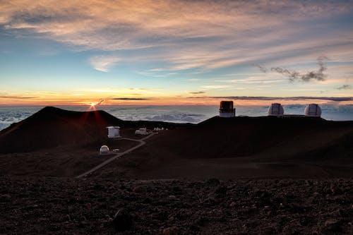 Free stock photo of clouds, hawaii, mauna kea