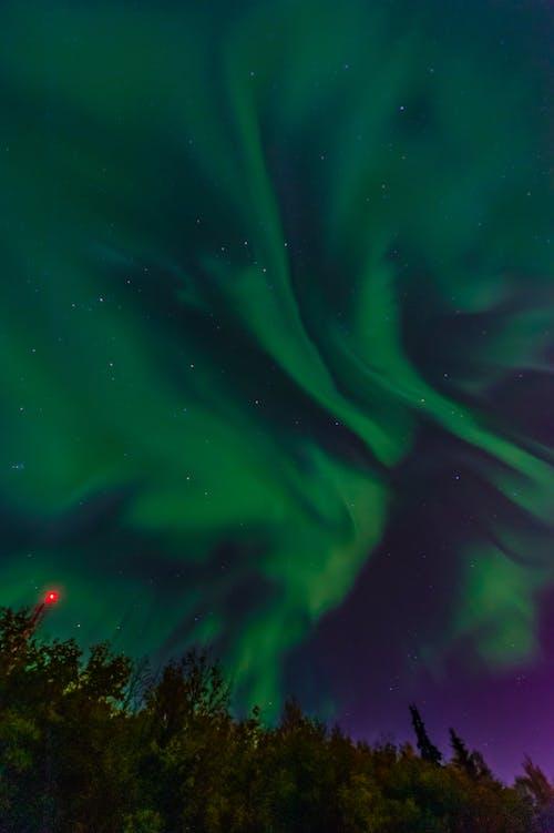Ingyenes stockfotó aurora borealis, ég, északi fény témában