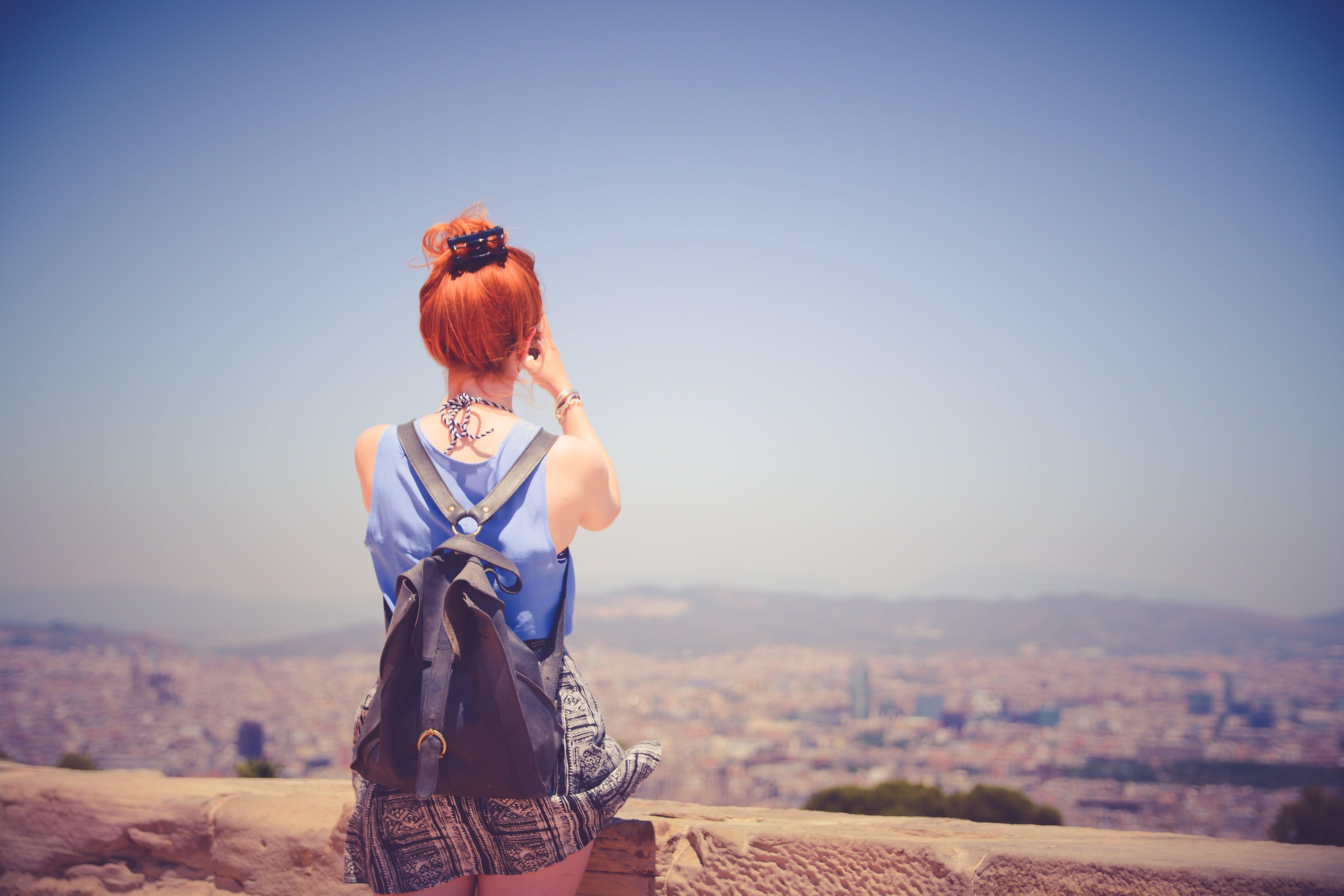 Woman Facing Backward
