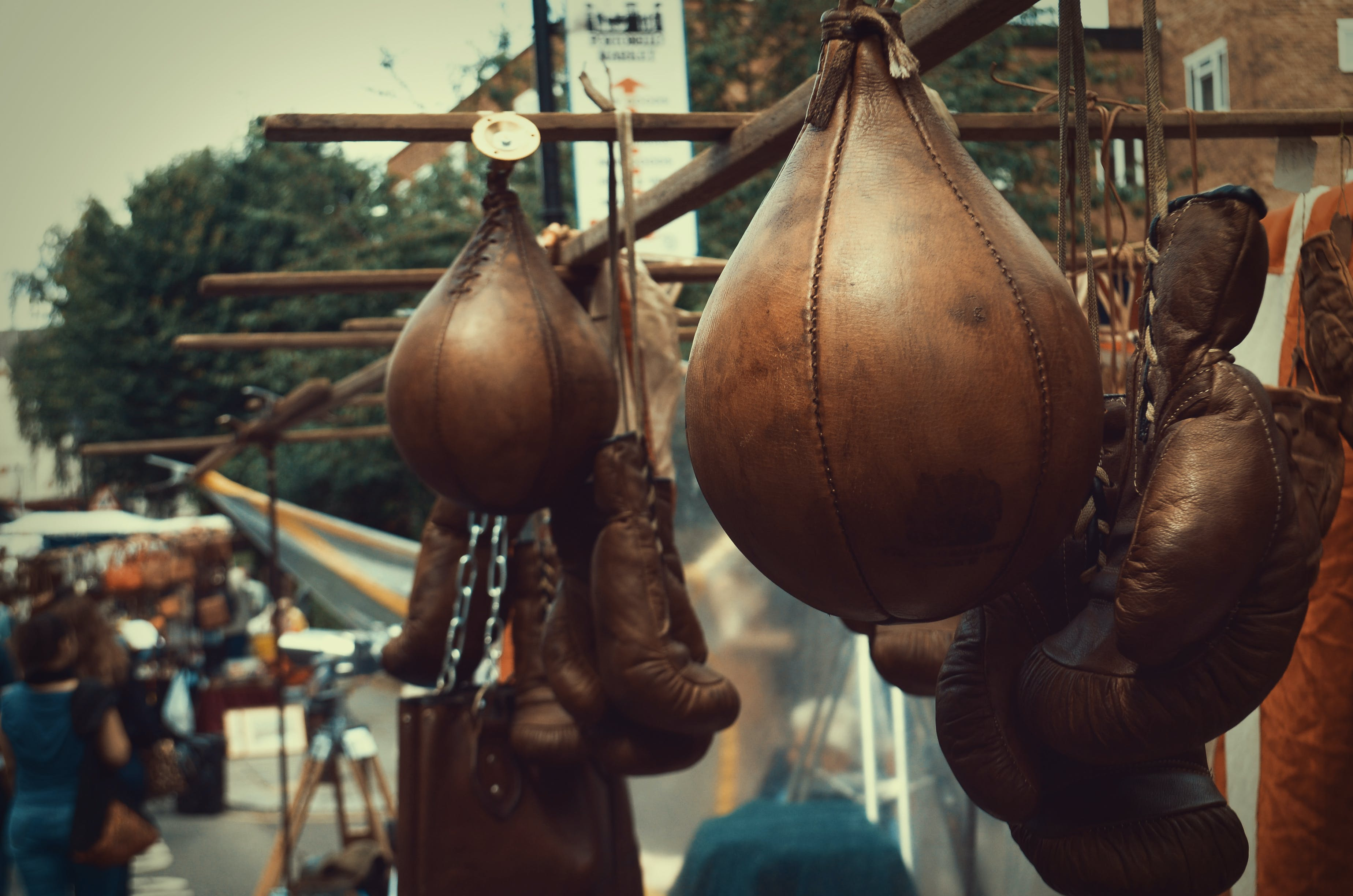 Free stock photo of old, box, london, boxing gloves