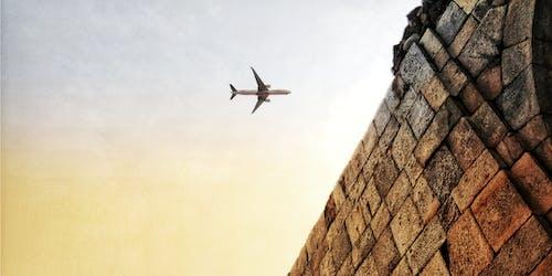Free stock photo of aeroplane, architecture, awesome