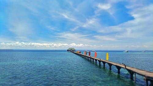 Základová fotografie zdarma na téma dovolená, letovisko, moře, mraky