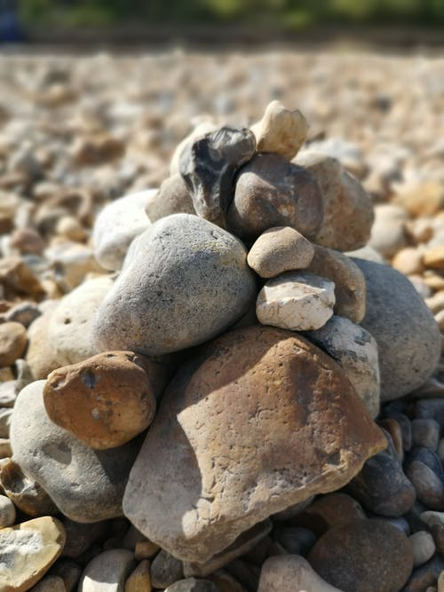 Free stock photo of nature, pebbles, rock tower