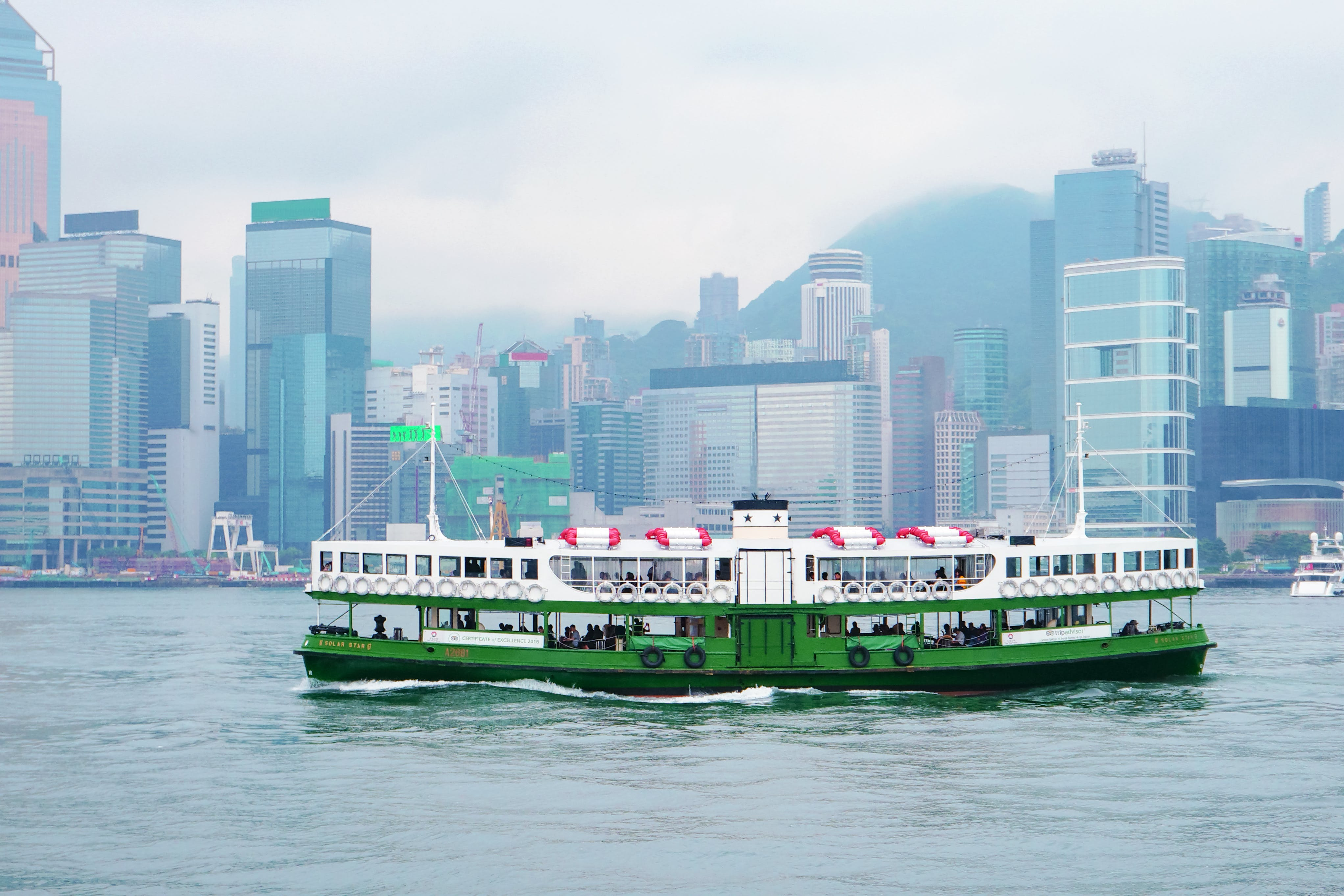 Free stock photo of boat, buildings, city, ferry