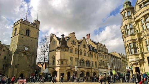 古城, 城市, 塔, 大學 的 免費圖庫相片