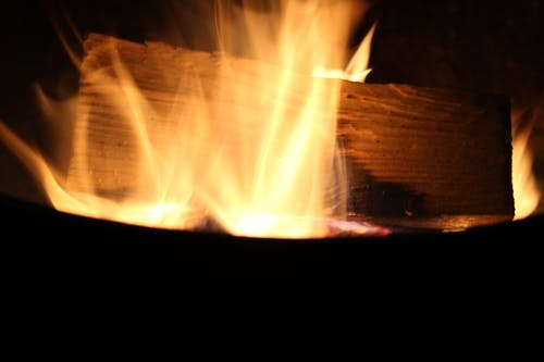 Immagine gratuita di falò, fuoco, legno tagliato, lunga esposizione