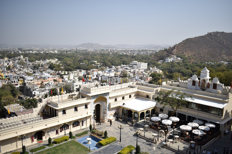 Free stock photo of city center, hills, palace