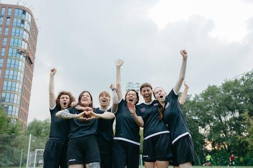 Imagine de stoc gratuită din atleți, celebrare, femei caucaziene