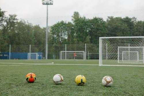 Immagine gratuita di allenatore, attrezzatura sportiva, calciatore