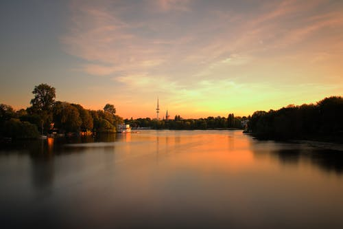 Free stock photo of alster, city, europe