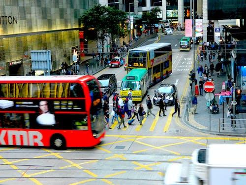 Základová fotografie zdarma na téma auta, centrální, centrální hong kong, fotka ulice