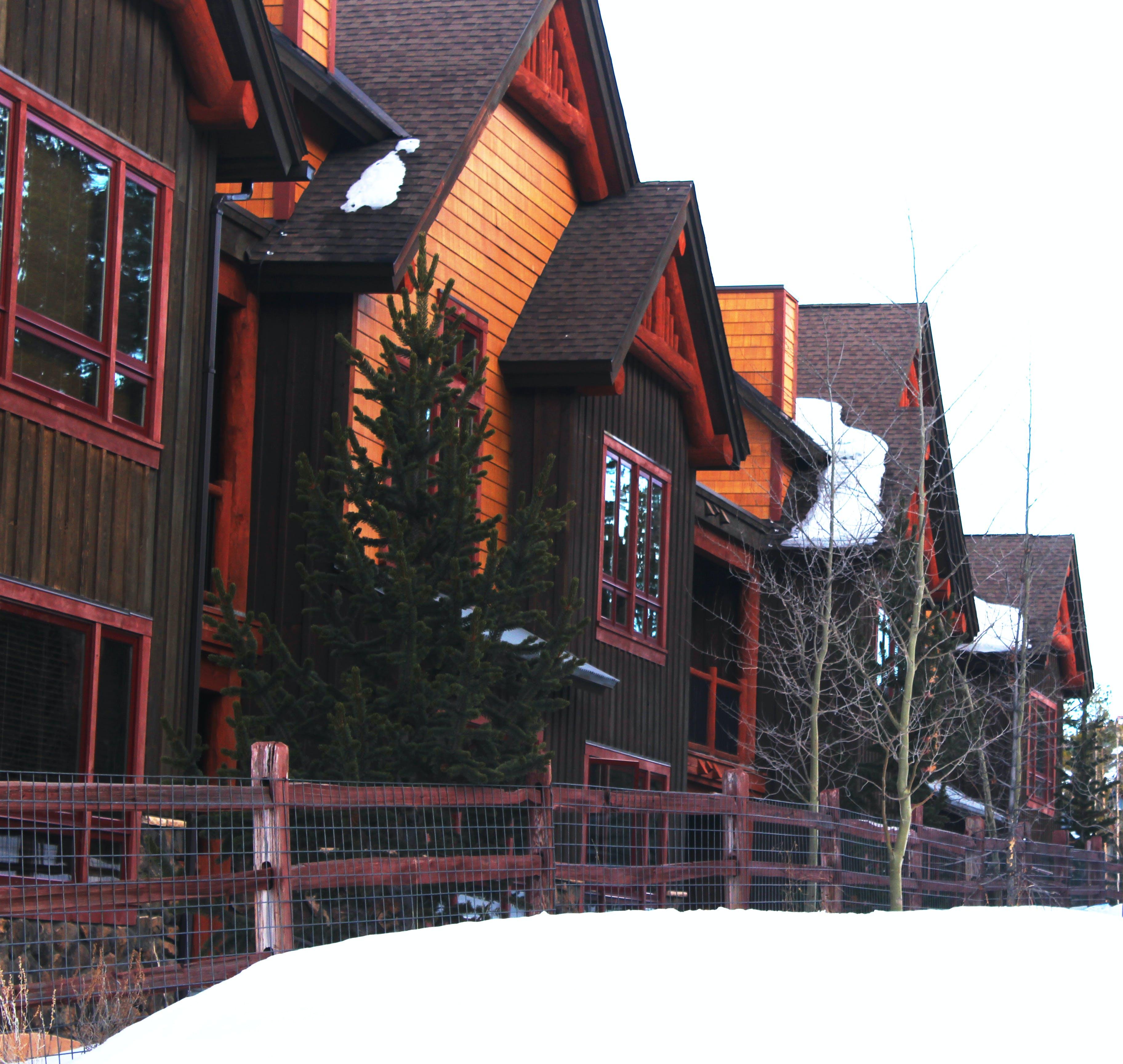 Free stock photo of building, colorado, hotel, ski