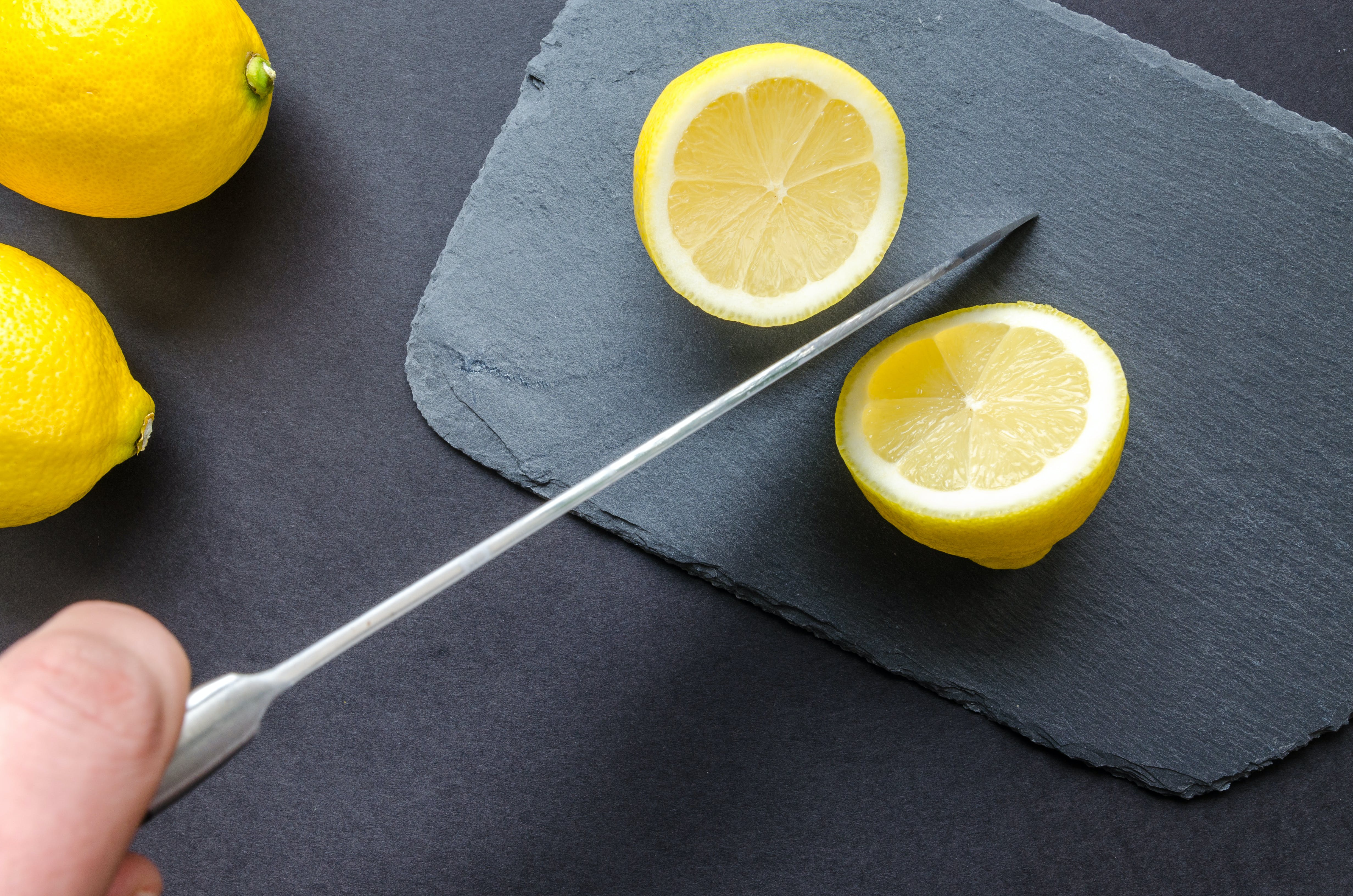 Photo of Sliced Lemon