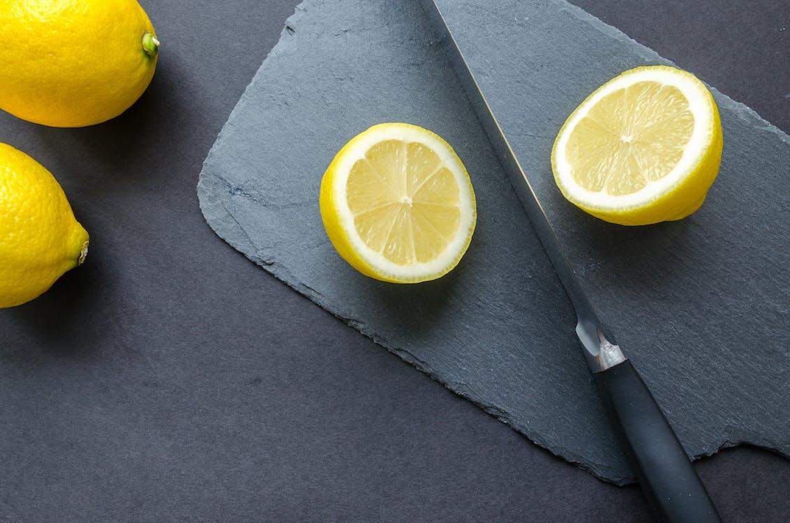 black, citrus, cut