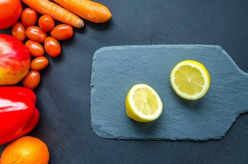Безкоштовне стокове фото на тему «їжа, апельсин, вітамін, великий план»